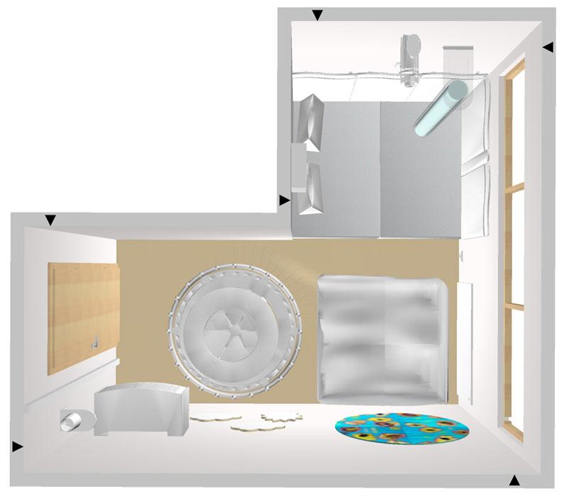 der wei e raum ein raum zum snoezelen. Black Bedroom Furniture Sets. Home Design Ideas